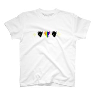 あくまトリオ T-shirts