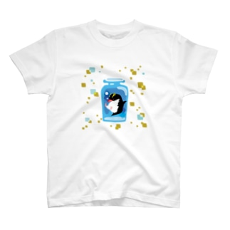 ペンギンの瓶詰めI T-shirts