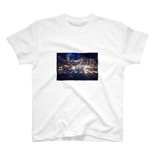 しんじゅくやけい T-shirts
