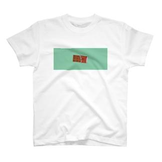 チョコミントペア T-shirts