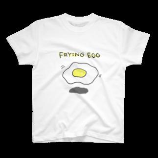 へびのあしのフライングめだまやき教 T-shirts