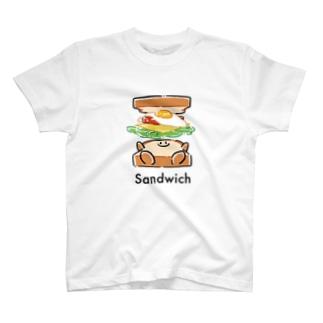 サンドイッチになる瞬間 T-shirts
