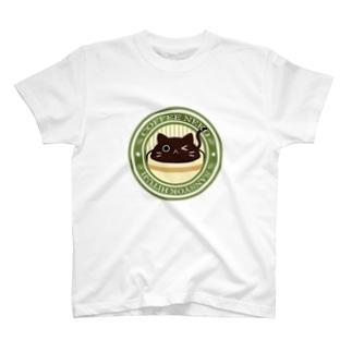 コーヒーねこカフェマーク Tシャツ