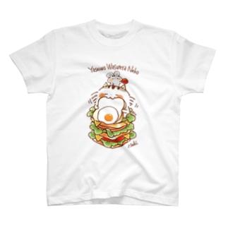 野性を忘れた猫 T-shirts