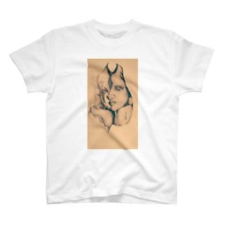 CrownおぶPierrot T-shirts