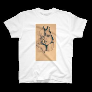 鈴木ま()のCrownおぶPierrot T-shirts
