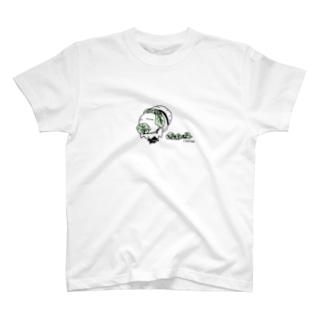 キャベツ農家おばけ T-shirts
