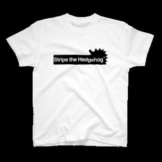 Alco fallen asleep(すぅ)のStH オリジナル -ハリネズミ- T-shirts