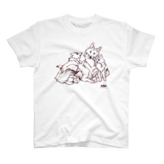 ホッキョクオオカミ T-shirts