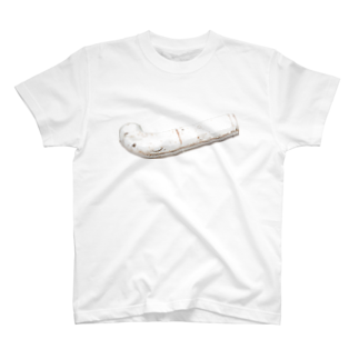 Yusuke Saitohの白いパイプ T-shirts