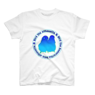 マメルリハインコシルエット T-shirts