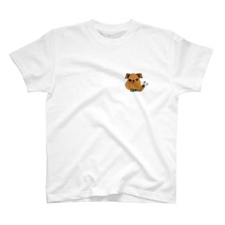 蘭丸goods(ブリュッセルグリフォン) T-shirts
