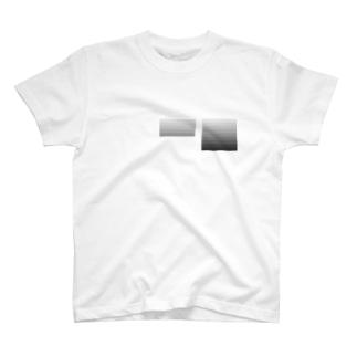 モノクログラデみっつパーセント T-shirts