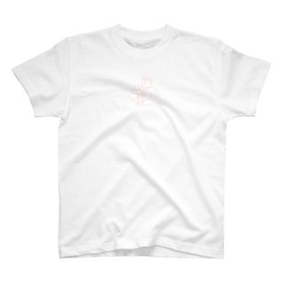 猫にキスボーイ T-shirts