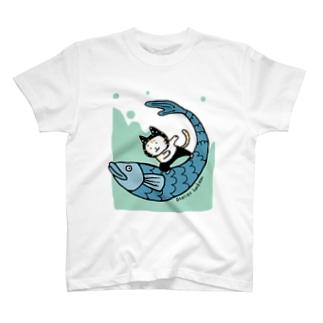 なみのりねこ T-Shirt