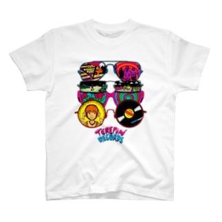 グラサン・サイケ・レコード T-shirts