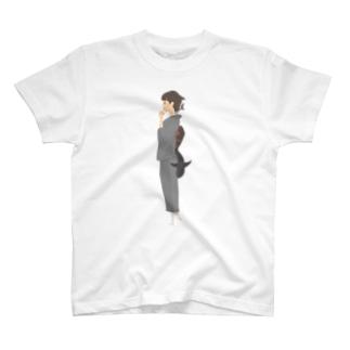 さめ子さんの捕食前 T-shirts