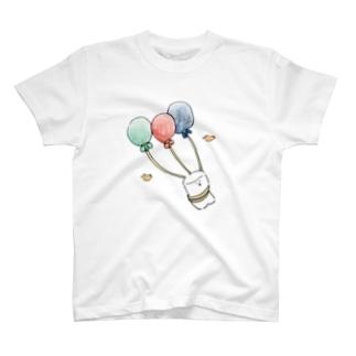 ましまろちゃん、そらをとぶ T-shirts