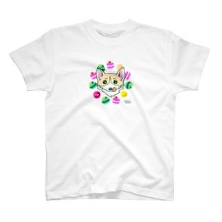 マカロンまろ T-shirts