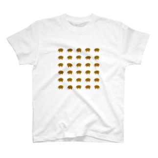 30匹のゾウさん改 T-shirts