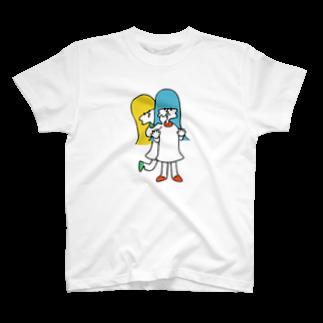 ねむまーるの口は禍の門 T-shirts