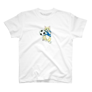 サッカーまろ T-shirts