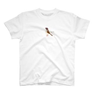 漫画「鳥・ストーリー」シリーズ スズメ T-shirts