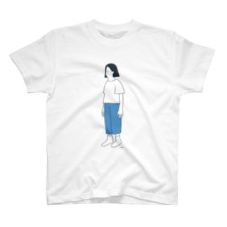 とおくをみている Tシャツ