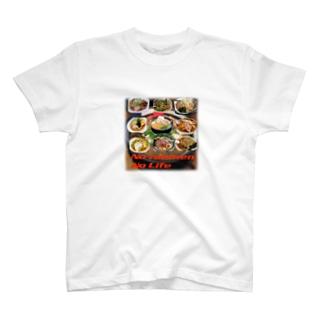 ラーメン大好き T-shirts