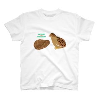 洗いさといもとひめうずら T-shirts