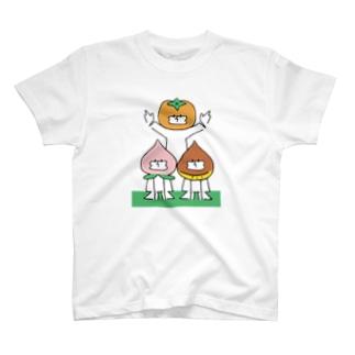 桃栗三年柿八年 T-shirts