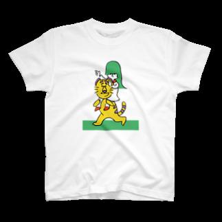 ねむまーるの騎虎の勢い T-shirts