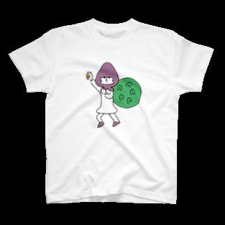 ねむまーるの盗人に追い銭 T-shirts