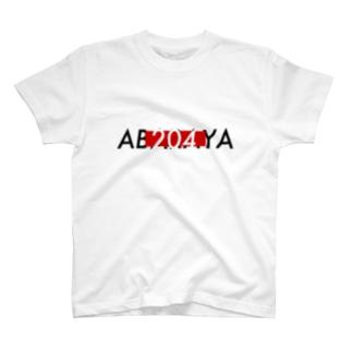 あばらや赤四角 T-shirts