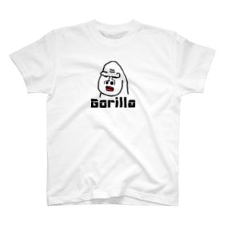 ゴリラのゴリオ T-shirts
