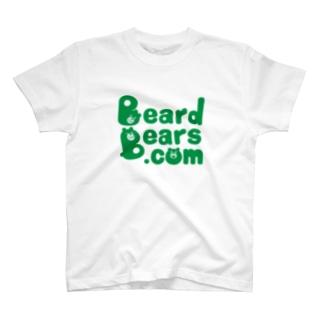 BeardBears.com(みどり) T-shirts