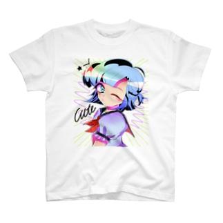 かわいい暴力 T-shirts