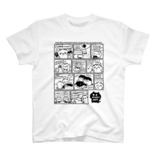 きゃらきゃらマキアート T-shirts
