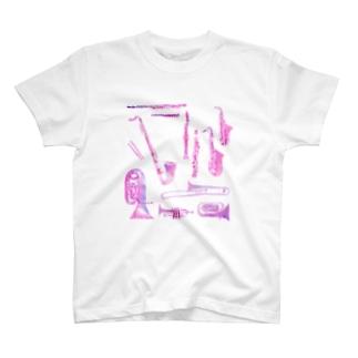 gakki-pink T-shirts