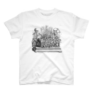 胎児の骨格のジオラマ - Getty Search Gateway T-shirts