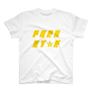 PORN STAR[ダサ→カッコロゴ] T-shirts