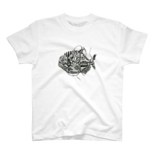 ピラニア T-shirts