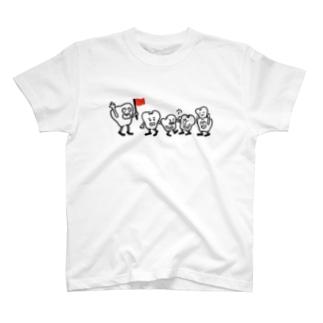 歯並び T-shirts