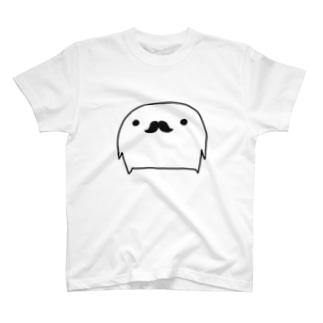 まっしろさんひげ T-shirts