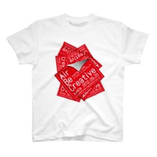シールいっぱい T-shirts