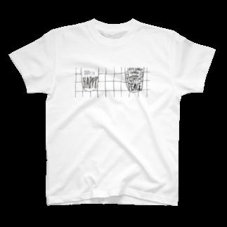 eri's Art love & peace Factoryのeri's Art 02 Tシャツ