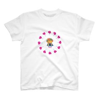 ハートがガビーンのクレコちゃん Tシャツ