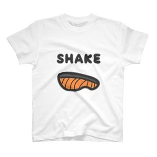 シャケ T-shirts