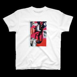 chisacollageのsmile T-shirts
