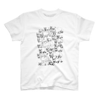 狸狸狸。 T-shirts